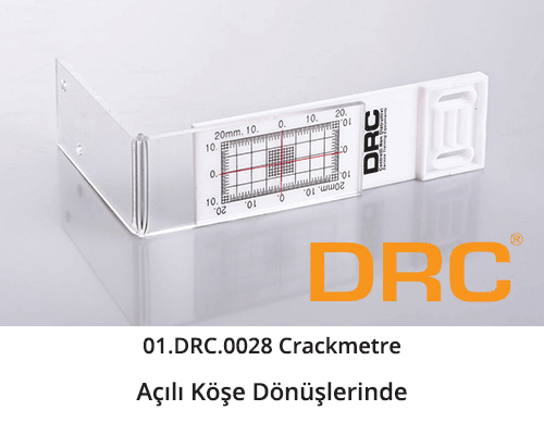 DRC Crack Meters