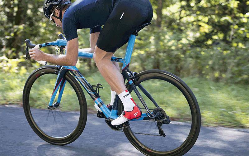 Time Osmos 12 Beyaz-Siyah Bisiklet Ayakkabısı banner-2