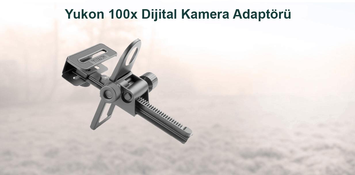 Yukon 100x Dijital Kamera Adaptörü