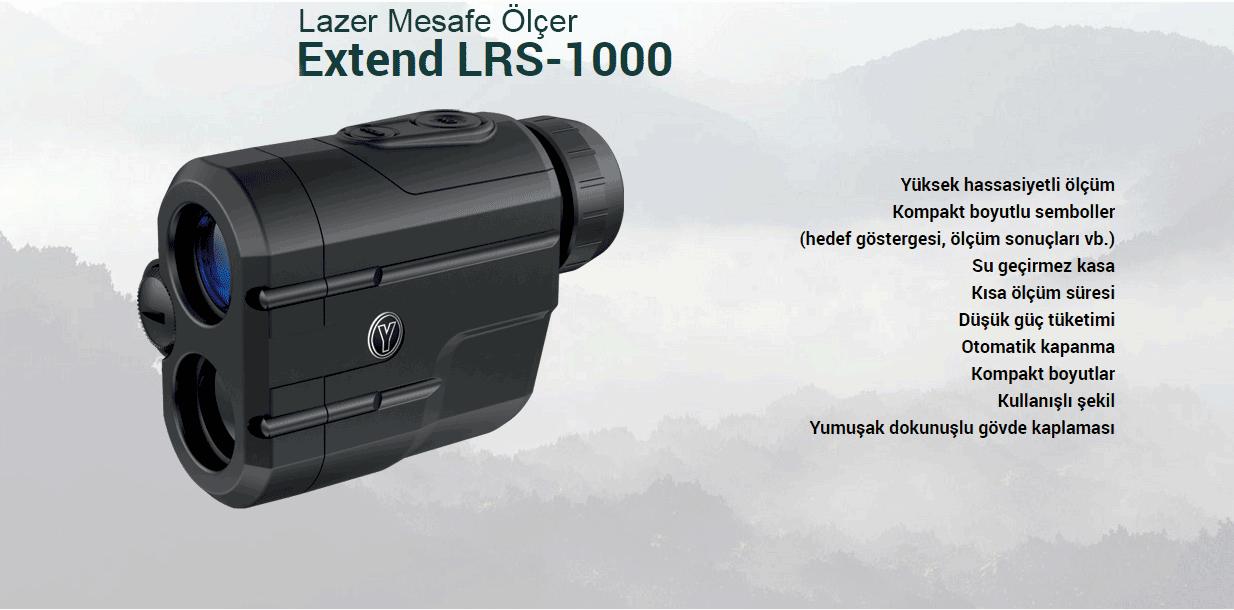 Yukon Extend LRS-1000 Lazer Mesafe Ölçer