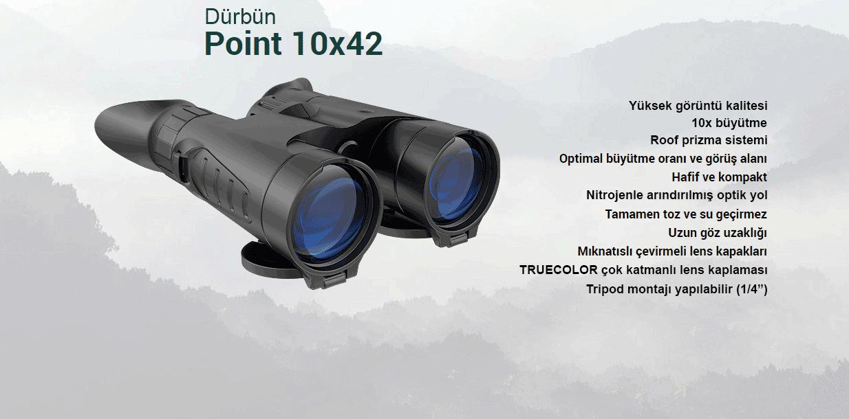 Yukon Point Dürbün 10x42
