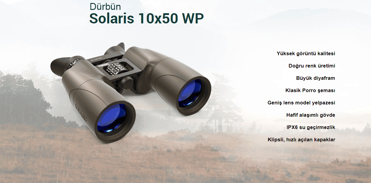 Yukon Solaris Dürbün 10x50 WP