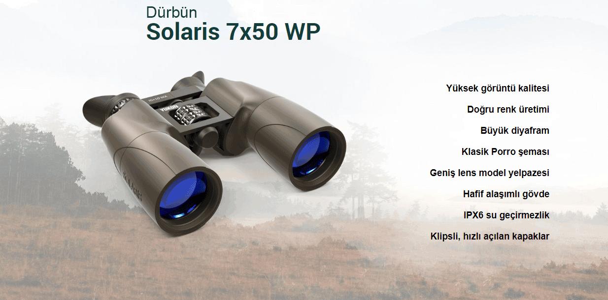 Yukon Solaris Dürbün 7x50 WP
