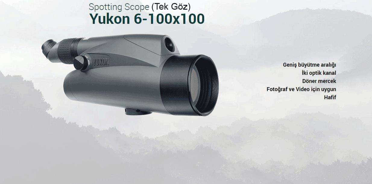 Yukon Spotting Scope 6-100x100