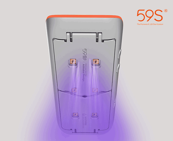 59S X1 UVC LED Mini Sterilizasyon Cihazı