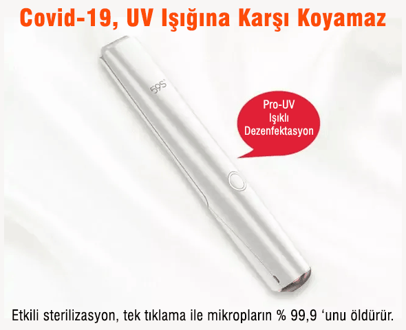 59S X5 Çok Fonksiyonlu UVC Sterilizasyon Çubuğu