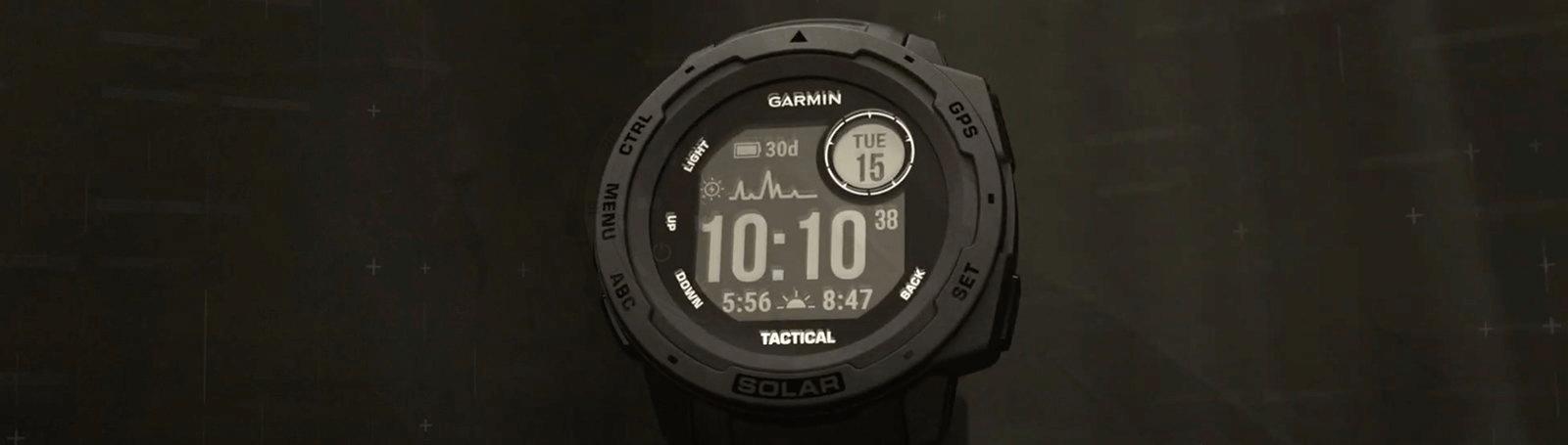 Garmin Instinct Solar Tactical